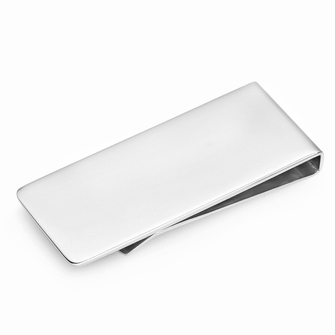 Streamline Collection Stainless Steel Money Clip