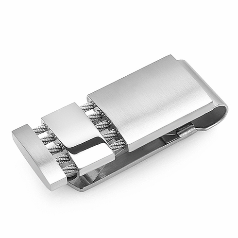 Suspension Collection Stainless Steel Money Clip