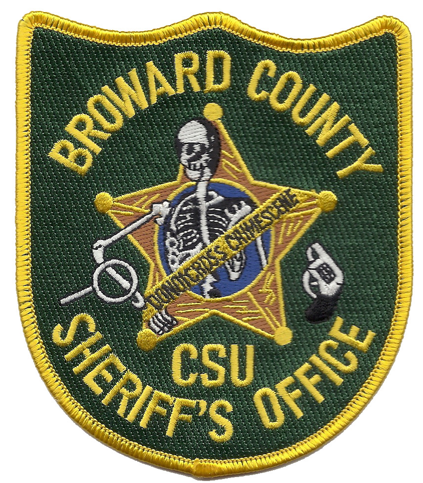 Video Broward County Police Officers Uninterested: Broward County Sheriff's Office CSU Florida Patch