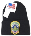 Drain the Swamp! Trump Police Metropolitan Police D.C. Patch Knit Hat