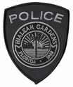 Hialeah Gardens Police Florida Subdued Patch