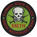 Illinois State Police Meth Response Team Patch