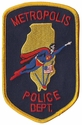 Metropolis Police Department Patch