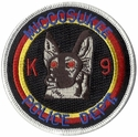 Miccosukee Police Department K9 Shepard Patch