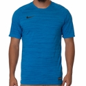 Playera de Futbol Nike Flash Dri-FIT Cool para Hombres - Azul Real