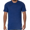 Playera de Futbol Nike Flash Dri-FIT Cool para Hombres - Obsidiana Obscura