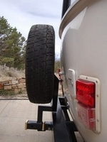Casita Spare Tire Carrier