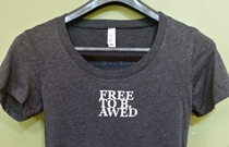 Free to B. Awed Fitted T