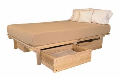 Full Size Ekko Storage Bed