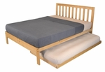 Full Size Charleston2 Trundle Bed Set