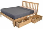 Twin Size Charleston2 Storage Bed
