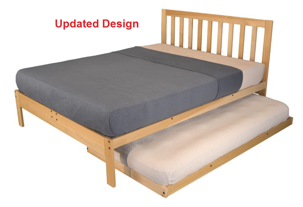 xl twin charleston2 bed twin trundle - Xl Twin Bed Frames