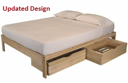 XL Twin Nomad Storage Bed