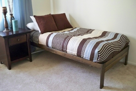 XL Twin Santa Cruz Bed (Rustic Walnut)