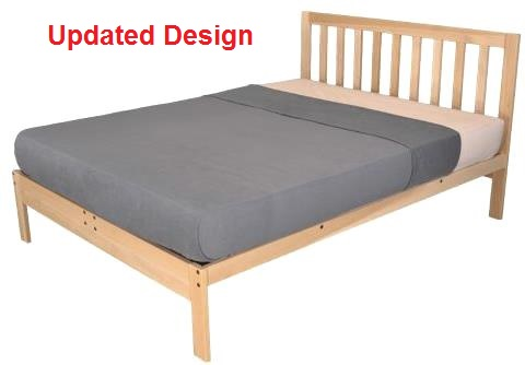 xltwin charleston2 platform bed - Xl Twin Bed Frames