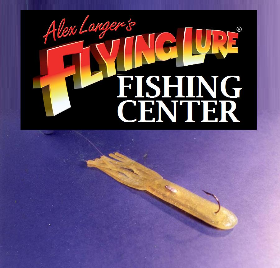 Flying lure for Fishing lure as seen on tv