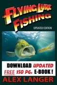 FREE eBook -Flying Lure Fishing , updated bestseller published by Disney