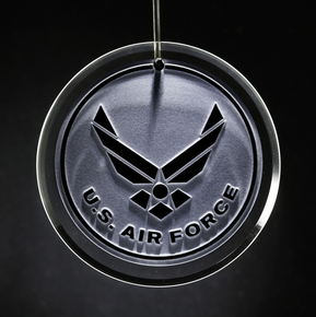 Air Force Engraved Ornament