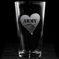 Army Mom Pint Pub Beer Glass