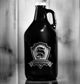 Beer Growler, Custom Logo