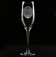 Breast Cancer Awareness Champagne Flute