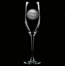 Engraved Champagne Glasses for Women