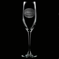 Engraved Champagne Glasses for Men