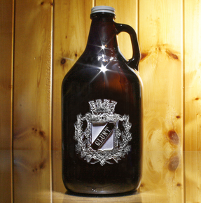Coat of Arms Beer Growler