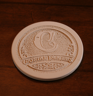 Company Logo Coasters, SET of 4