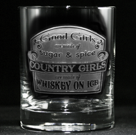 Country Girls Whiskey Glass