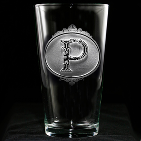 Custom Engraved Pub Pint Water Beer Glasses