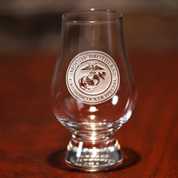 Custom Logo Engraved Glencairn Glass