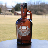 Custom Logo Engraved Growler