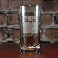 Custom Logo Highball Cooler Glass