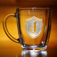 Custom Monogrammed Coffee Mug