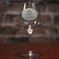 Design My Own Logo Engraved Wine Glasses