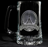 Eiffel Tower Beer Mug