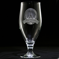 Eiffel Tower Engraved Goblet