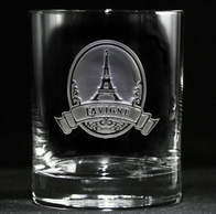 Eiffel Tower Scotch Glass