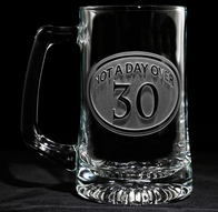 Engraved 30th Birthday Beer mug
