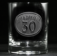 Engraved 30th Birthday Whiskey Glass