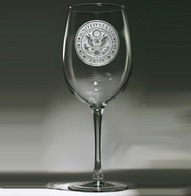 Engraved Army Wine Glasses