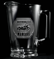 Engraved Beer Pitchers for Men