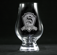 Engraved Personalized Glencairn Whisky Glass