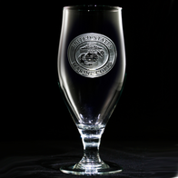 Engraved Marines Water, Iced Tea Goblet