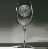 Engraved Marines Wine Glass Gifts