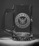 Engraved Navy Beer Mug Military Gift