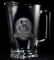 Engraved Beer Pitcher