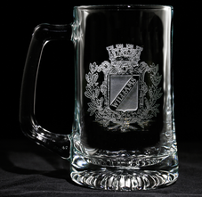 Beer Mugs, Engraved Personalized