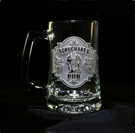 Engraved Personalized Pub Bar Sign Beer Mug